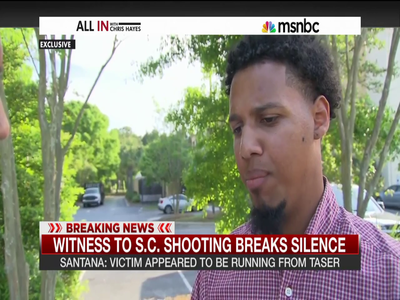 Interview With The Witness Who Recorded The Shooting Death Of 50-Year-Old Walter Scott