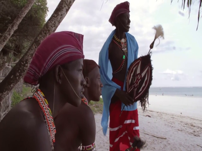 The Sex Exploitation Of African Men By White Women Who Are Tourists In Kenya!