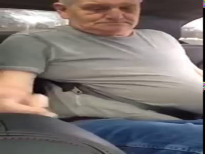 Man Trapped In Seatbelt