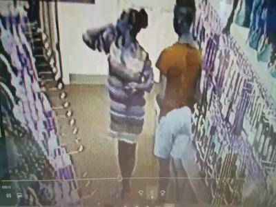 UnBeweaveable! Man Caught On Film Stealing Bundles From Beauty Supply Store