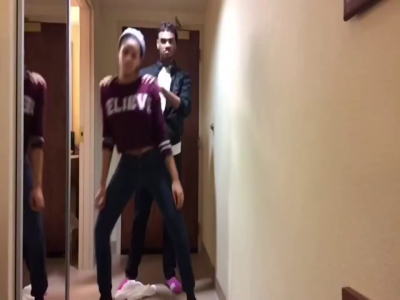 Brother and Sister Recreate Beyonce's 7/11 In Their Hotel Room