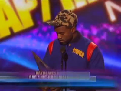 Kanye West Giving Up His AMA Award Back In 2008 To Lil Wayne Because He Didn't Feel He Deserved It!