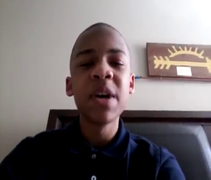 12 Year Old Boy Slams Al Sharpton For Not Caring About Black People & Says He's Tired Of Him Being The Voice Of His Race!