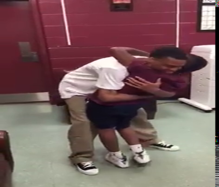 Big brother surprises his little brother after being released from prison.. WOW!!