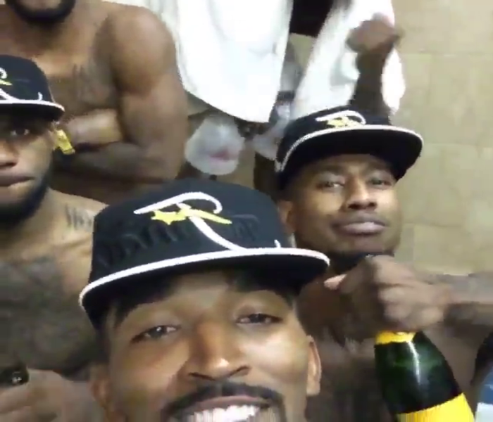 This Video Of The Cleveland Cavaliers In A Hot Tub Is Too Sexy