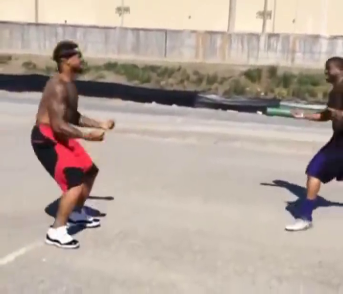 Giant's Odell Beckham Jr Proves He Can Play More Than Football In New Video