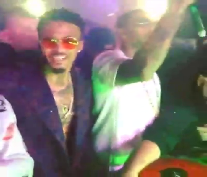 August, Trey and Chris In The Club