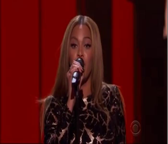 Beyonce's Stevie Wonder Tribute