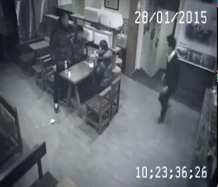 Thug Life:  Woman Knocks Out 3 Guys In 3 Seconds