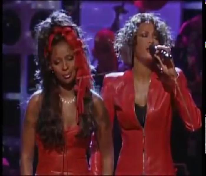 Whitney Houston and Mary J. Blige- Ain't No Way