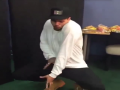 Chris Brown Dances To Beyonce's 7/11